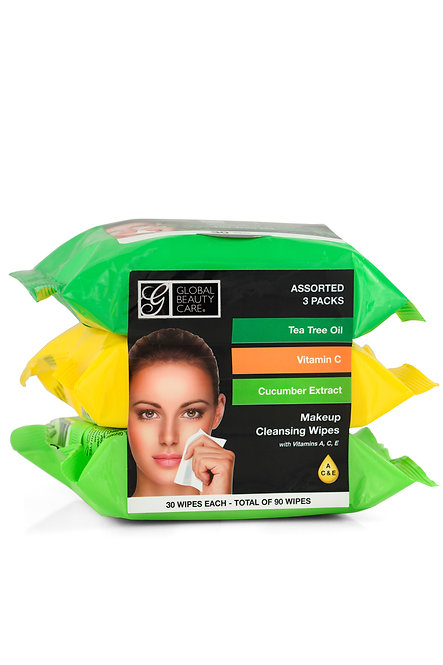Global Beauty Care Makeup Cleansing Wipes (90 Ct)
