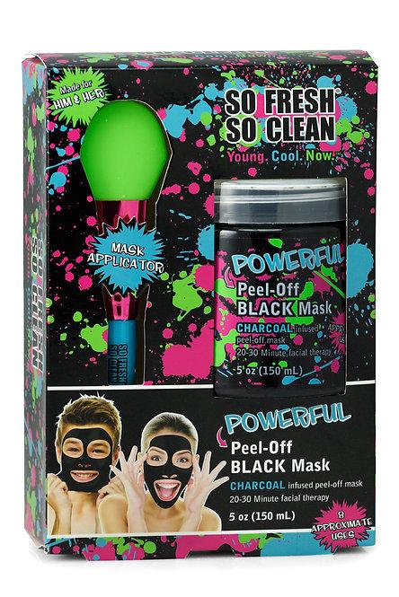 So Fresh So Clean Peel-Off Black Mask with Applicator (5 Oz)
