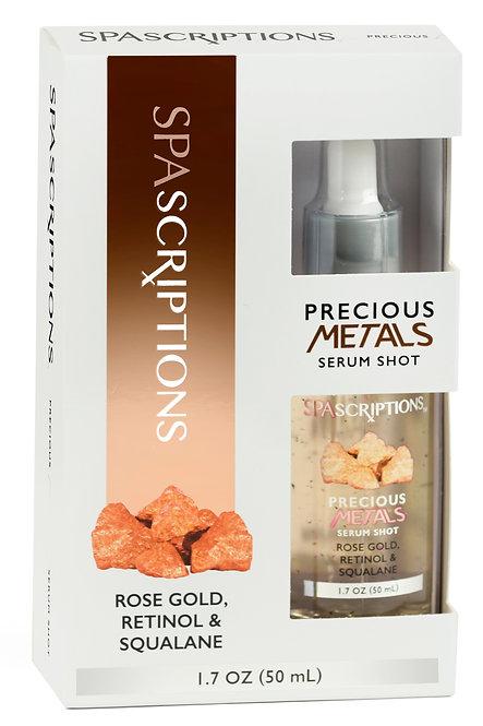 Spascriptions Precious Metals Serum Shots (1.7 Oz)