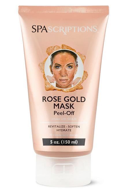 Spascriptions Rose Gold Peel-Off Mask (5 Oz)