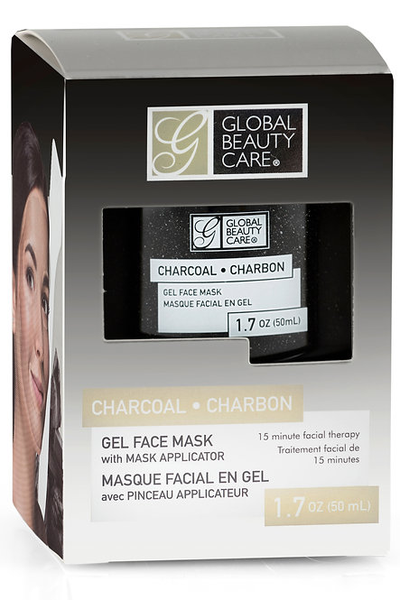 Global Beauty Care Gel Masks: Charcoal/Gold/Clay (1.7 Oz)