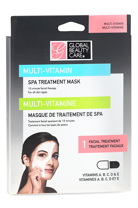 Global Beauty Care Multi-Vitamin Sheet Mask (1 Ct)