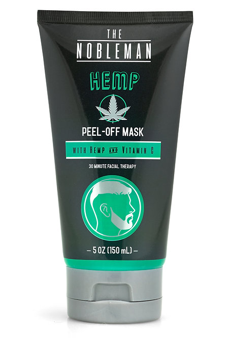The Nobleman Hemp Facial Peel-Off Mask (5 Oz)