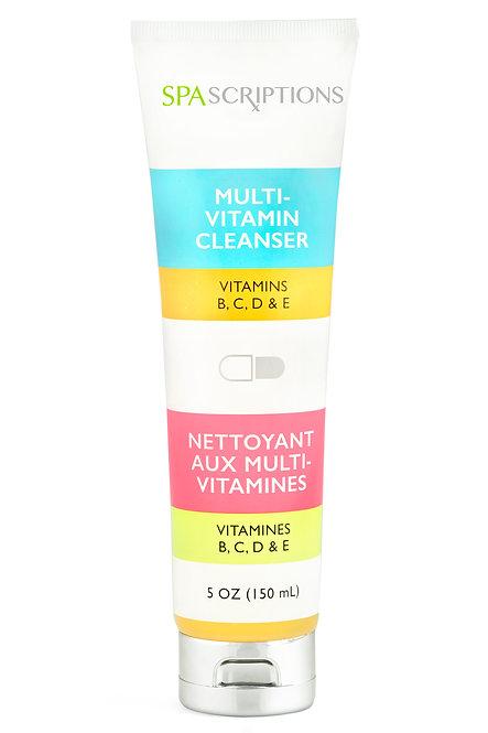 Spascriptions Multi-Vitamin Cleanser with Vitamins B, C, D, & E (5 Oz)