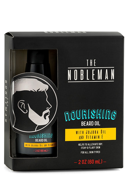 The Nobleman Nourishing Beard Oil (2 Oz)