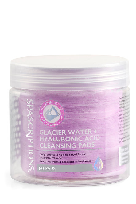 Spascriptions Glacier Water Cleansing Pads (80 Ct)