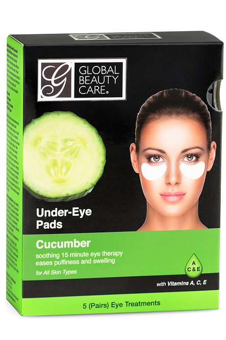 Global Beauty Care Cucumber Under-Eye Pads (5 Ct)