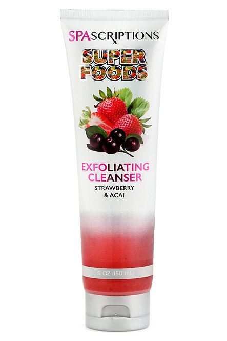 Spascriptions Superfoods Exfoliating Cleansers Wipes (5 Oz)
