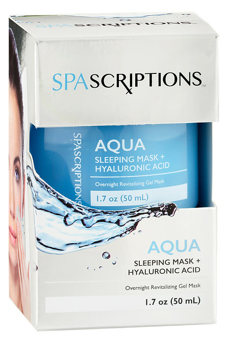 Spascriptions Aqua Sleeping Mask (1.7 Oz)