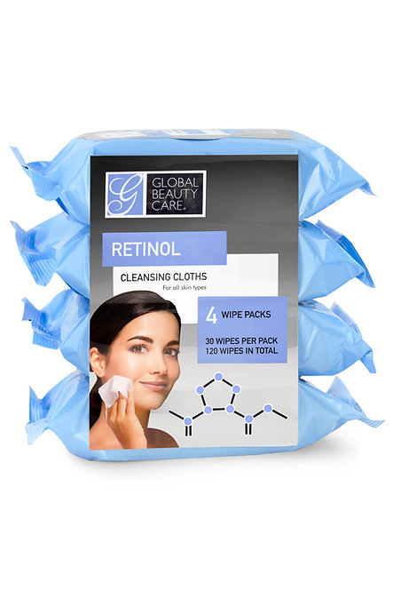 Global Beauty Care Makeup Cleansing Wipes (120 Ct)