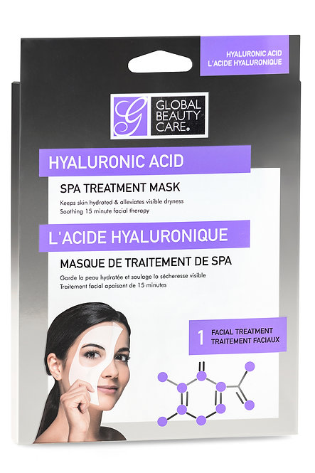 Global Beauty Care Hyaluronic Acid Spa Treatment Masks (1 Ct)