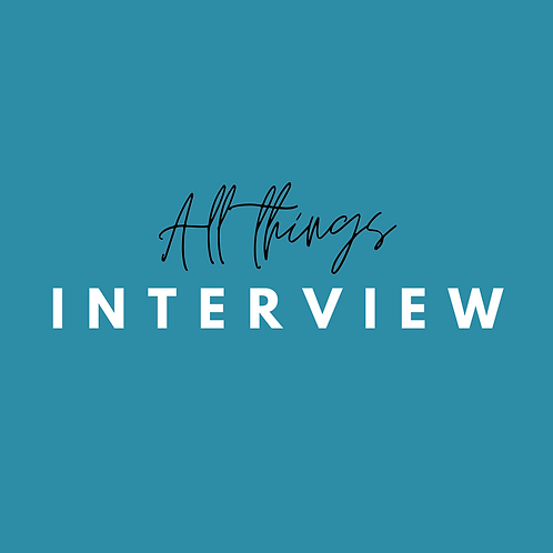 All Things Interview - (2) Coaching Sessions