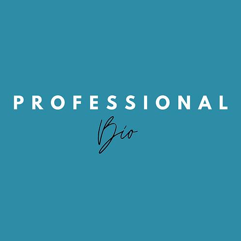 Professional Bio