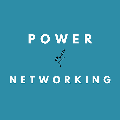 Power of Networking - Coaching Session