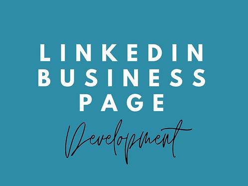 Linkedin Business Page Development