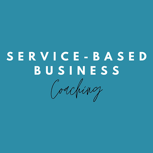 Service-based Business Coaching