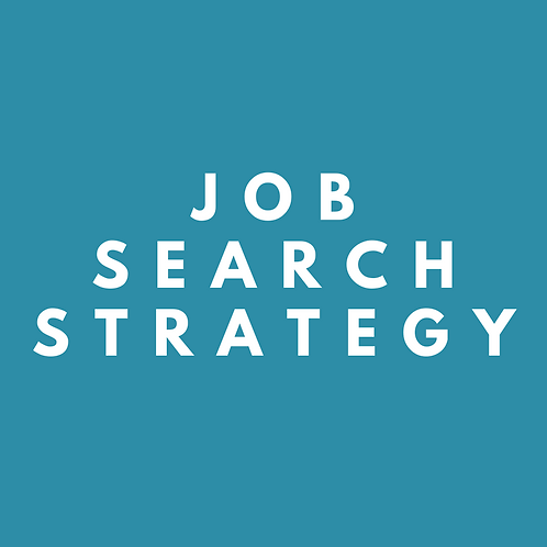 Job Search Strategy - Coaching Session