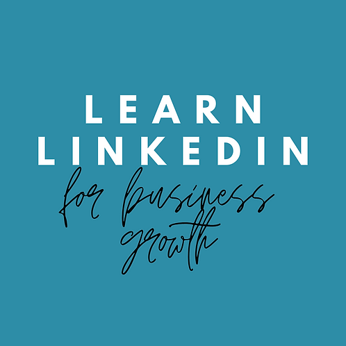 Learn Linkedin for Business Growth Training (2 Sessions)