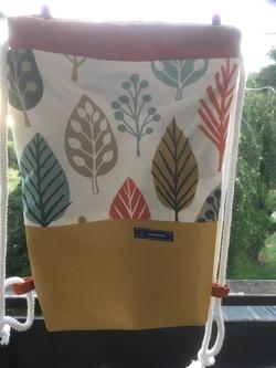 Rucksack Blätter