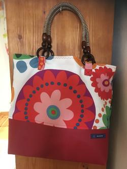 Handtasche Blume