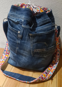 Upcycling Tasche aus Jeans