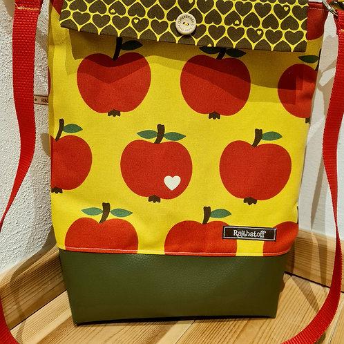 Beuteltasche Äpfel