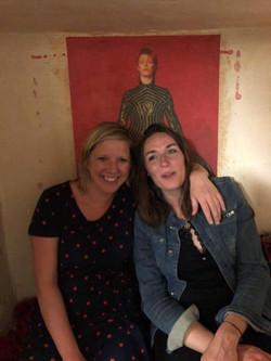 Claudia Korrek und ich