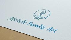 Création logo Michelle Paradis Art