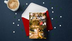 Carte Noël Personnalisable
