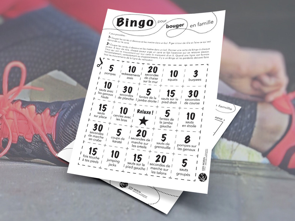 Bingo! On bouge!