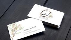 Logo et cartes d'affaires CJ
