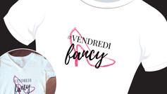 logo pour chandail #VendrediFancy