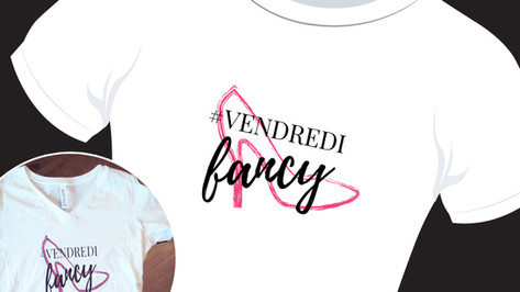 logo pour chandail #VendrediFancy