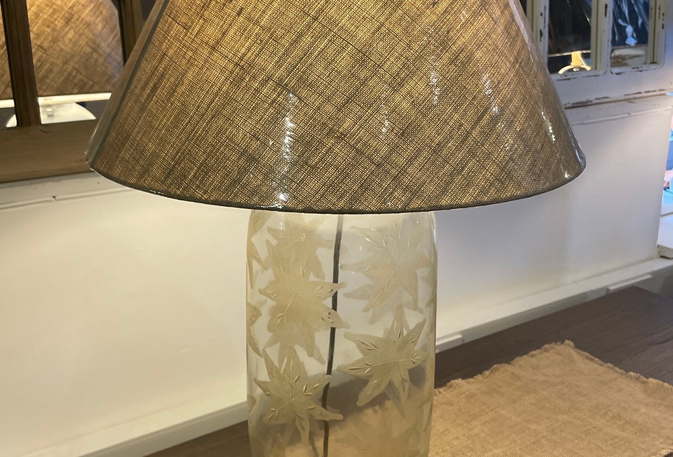 Claymore Lamp and Shade