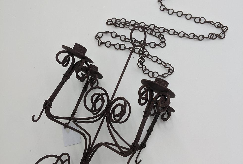 Mini Wire Chandelier