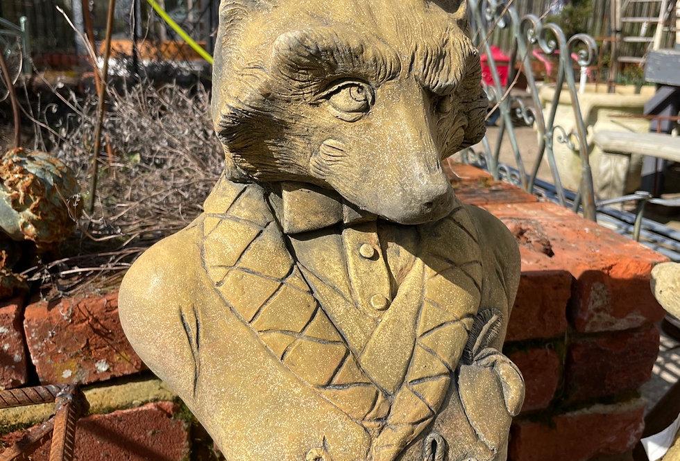 Lord Reynard Fox Bust