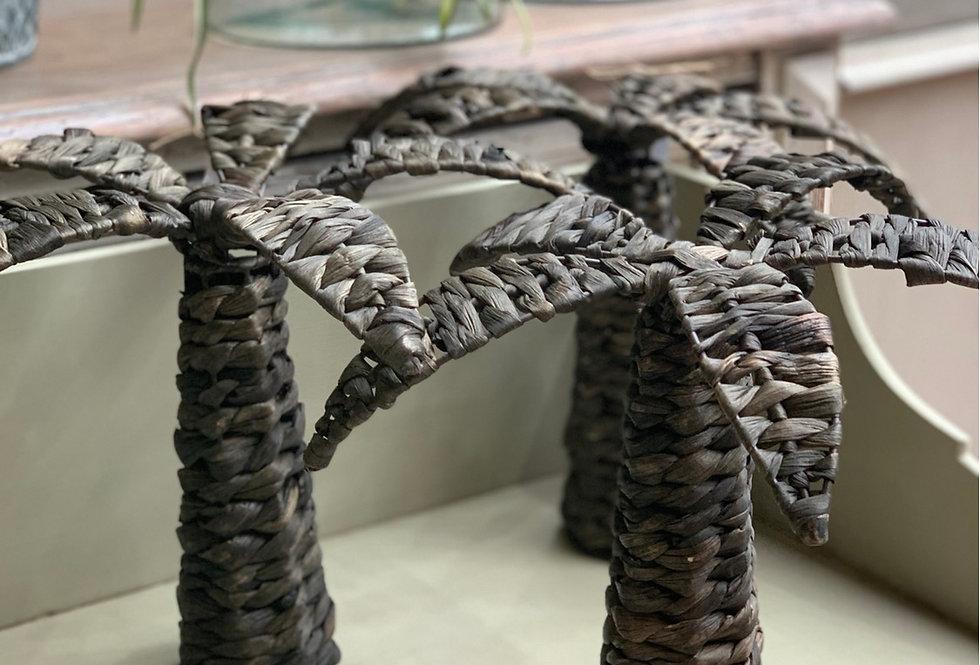 Wicker Hyacinth Palm Tree