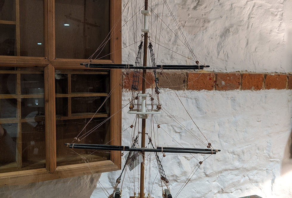 Constitution Ship Model