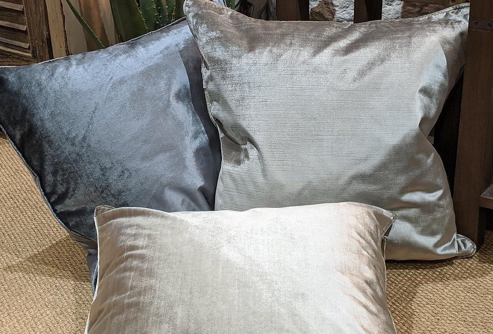Luxury Velvet Cushion - With Shine