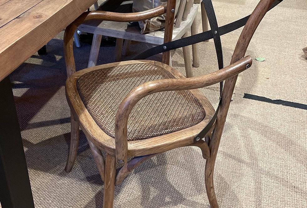 Metal X Chair