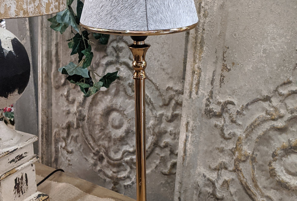 Gold Lamp Hide and Shade