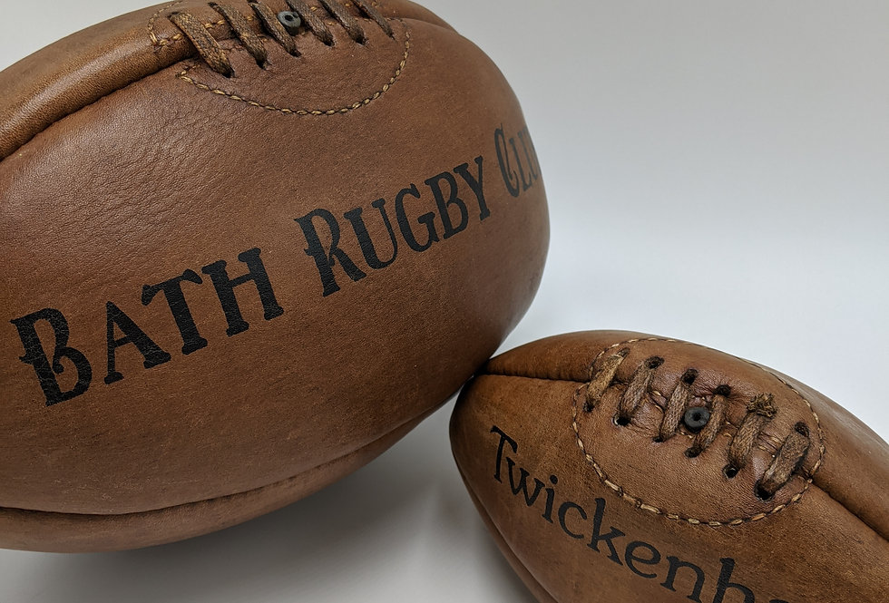 Leather Rugby Ball
