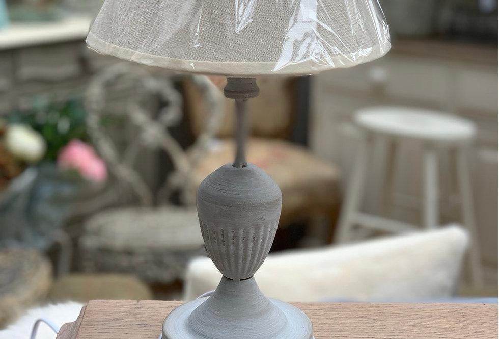 Light Grey Small Table Lamp