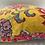 Thumbnail: Malisa Lemon Cushion With Pom Poms