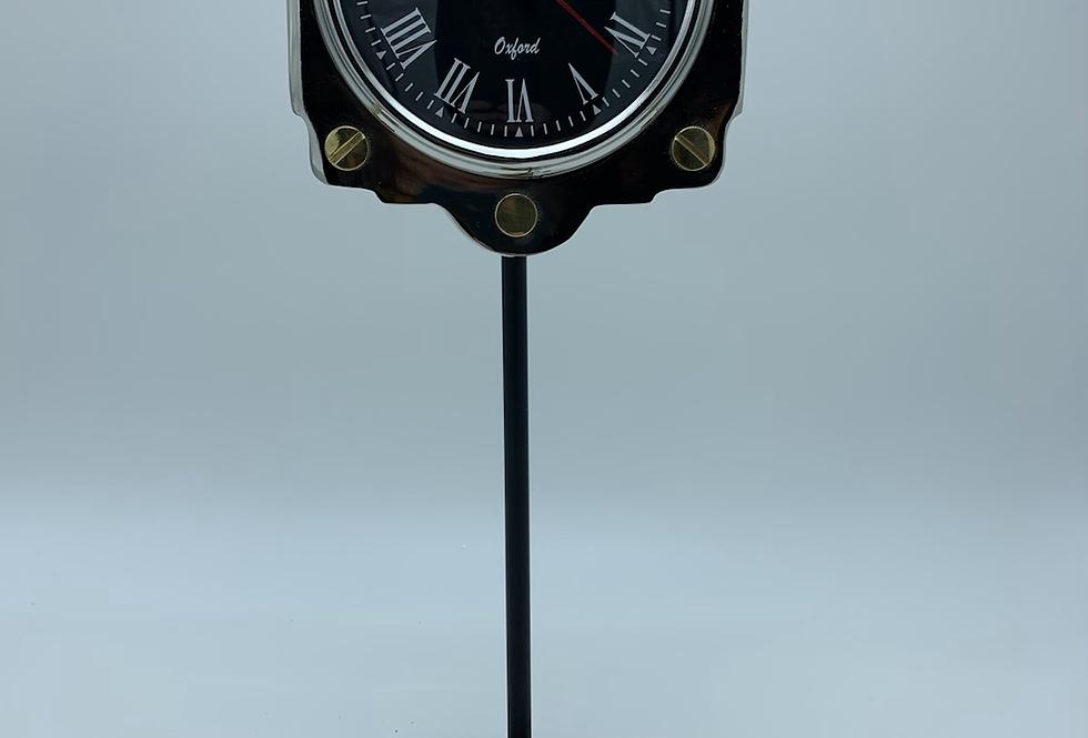 Altimeter Desk Clock On Stand
