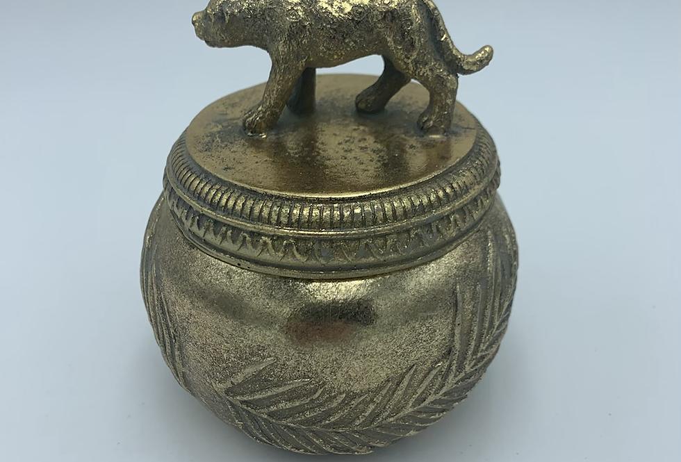 Leopard Gold Box