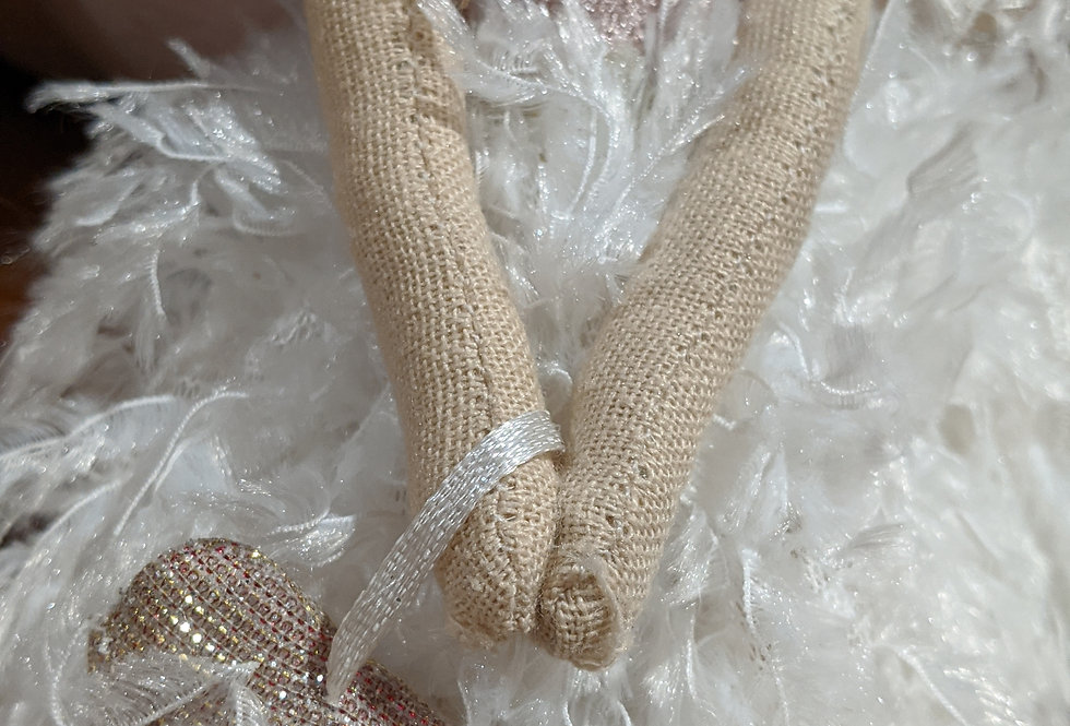 Hanging Ballerina with Heart bag