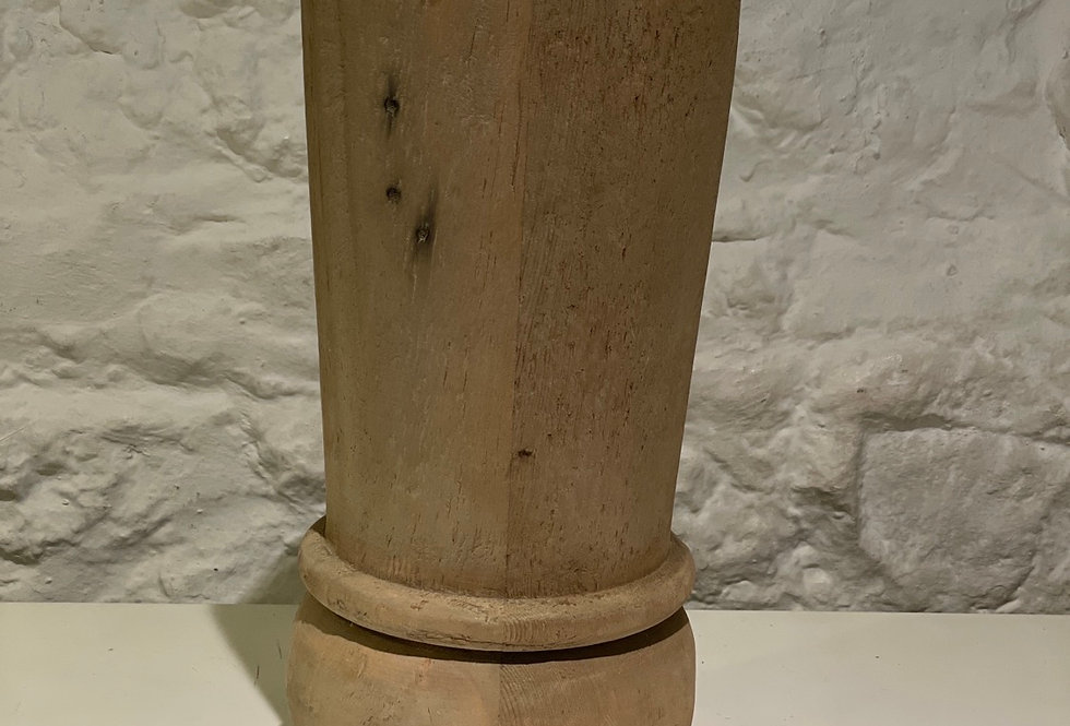 Turned Candle Holder Small