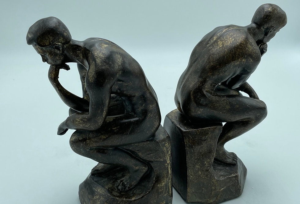 Thinker book ends