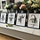 Thumbnail: Set Of 4 Monochrome Floral Pictures